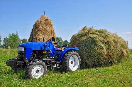 Hay preparation.  Stock Photo - 11299646