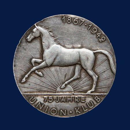 commemorative: Ancient silver commemorative medal