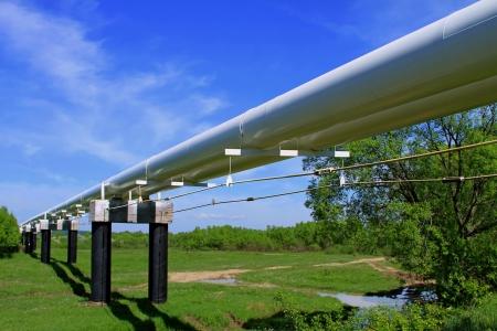 The high pressure pipeline Stock Photo - 13719438