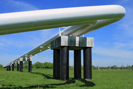 The high pressure pipeline Stock Photo - 14717876