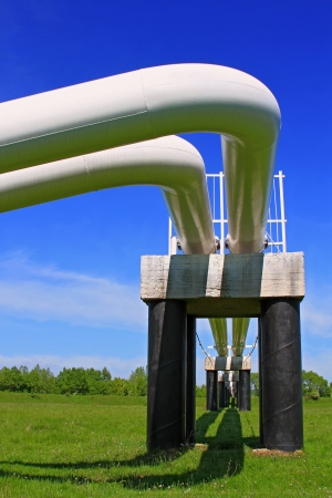 The high pressure pipeline Stock Photo - 15333242