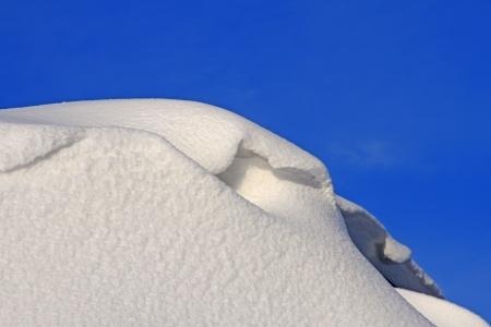 traufe: Schnee Traufe