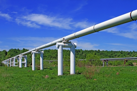 The high pressure pipeline Stock Photo - 17685259