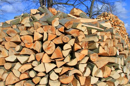 forest products: Chipped fire wood