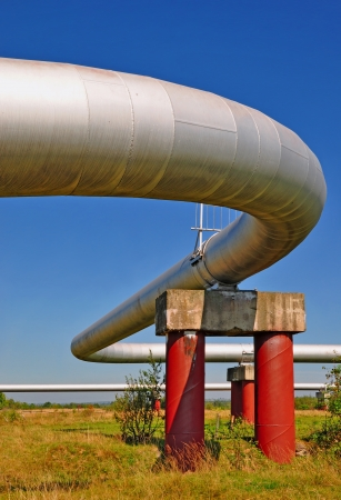 The high pressure pipeline Stock Photo - 18960515