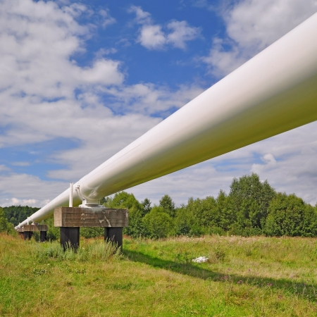 'main squeeze': The high pressure pipeline