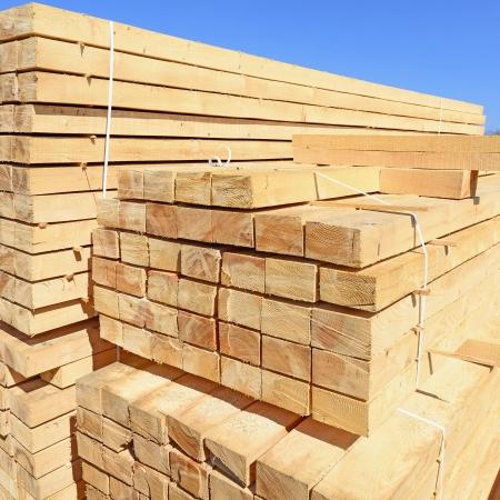workable: Edging board in stacks
