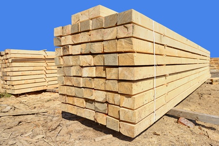 basic material: Building bar from a tree