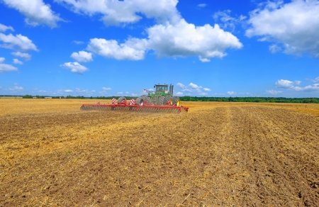 cultivator: Processing of soil cultivator