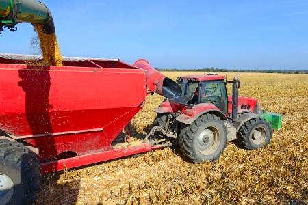 tanker type: At harvest corn