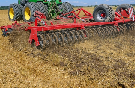 clearer: Processing of soil cultivator
