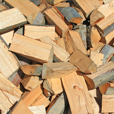 forest products: Chipped fire woods