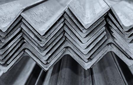 angle bar: Angle bar made of steel Stock Photo
