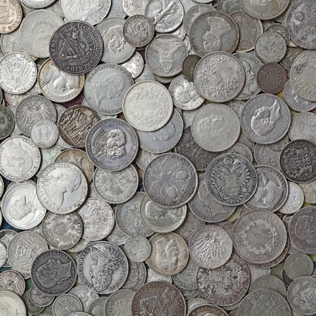 money matters: Ancient silver coins