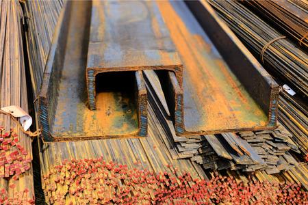 channel: Rolled steel channel