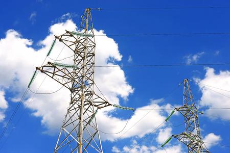 isolator insulator: High-voltage power line