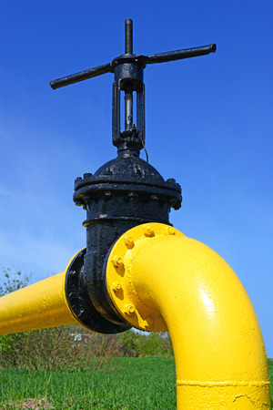 'main squeeze': Pigiron latch on the gas pipeline of low pressure