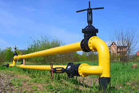 gas distribution: Equipment for gas distribution station
