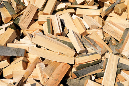 fire wood: Chipped fire wood