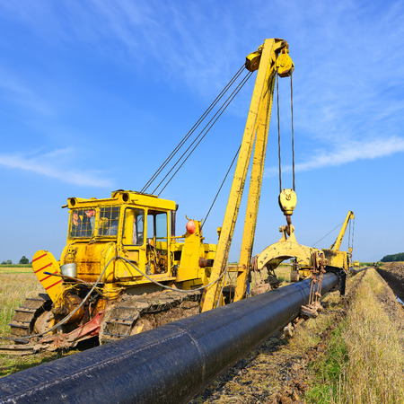 fitter: On the pipeline repairs