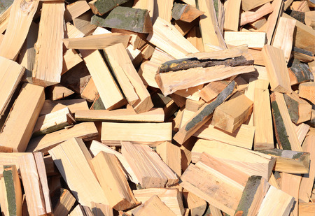 workable: Chipped fire wood
