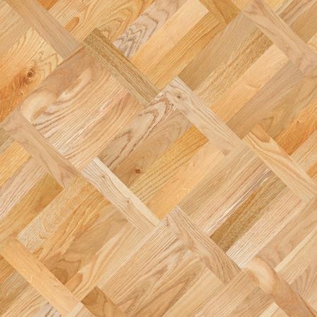 on wood floor: Fragment of parquet floor