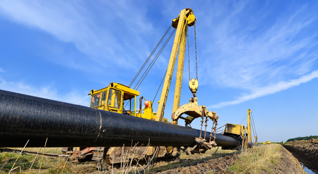 maintenance fitter: On the pipeline repairs