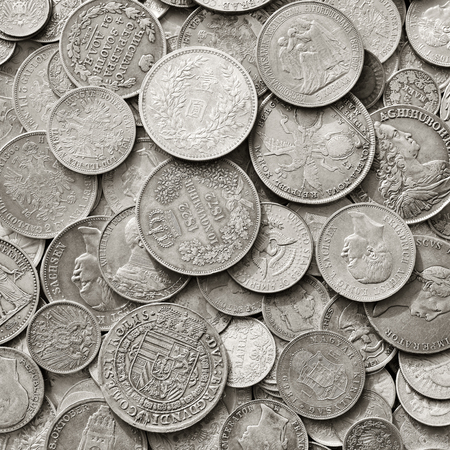 threw: Ancient silver coins