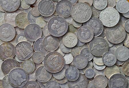 silver coins: Ancient silver coins