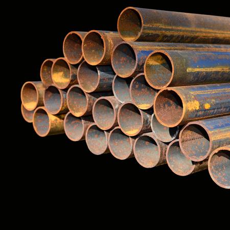 steel pipes: Steel pipes.