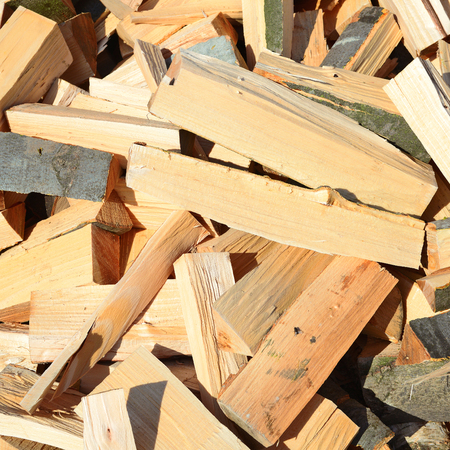 fire wood: Chipped fire wood.