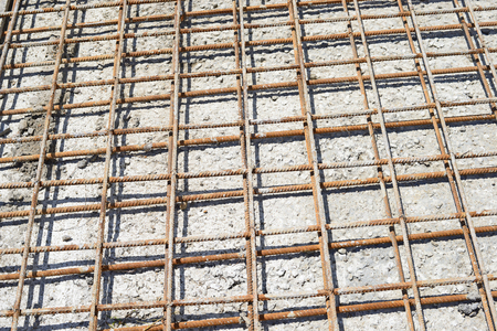 concreting: Reinforcement of the concrete structure
