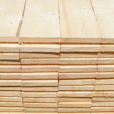 workable: Eaves board in stacks.