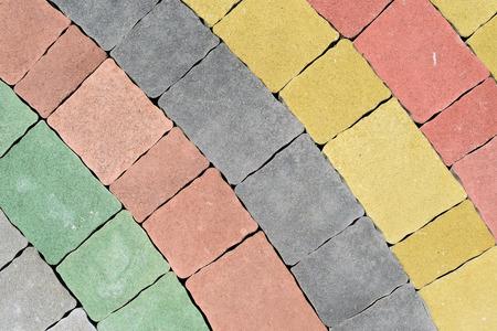 empedrado: Plataforma pavimentado por un hormigón bloques de piedra