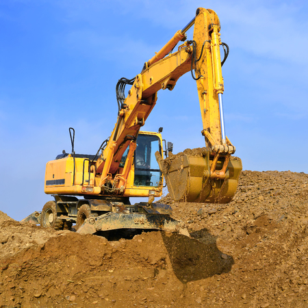 earthwork: On the construction of a protective dam