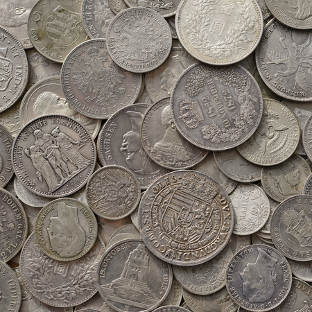 reverse: Ancient silver coins