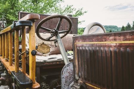 coche de bomberos: Coche de bomberos del vintage