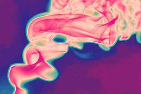 trippy: Psychedelic humo Foto de archivo