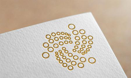 Golden Iota Coin Symbol. Iota Coin Logo.