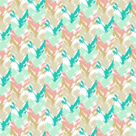 Vintage boho fashion style seamless pattern.