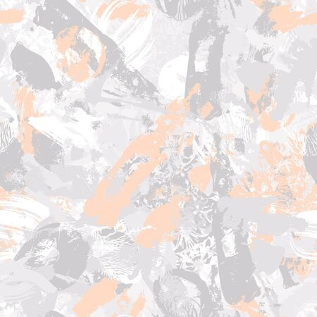 Abstract seamless pattern. Grunge background Vettoriali