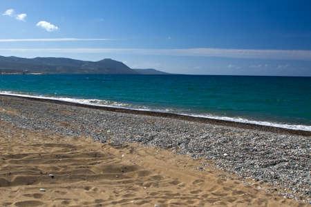 Latchi Beach near Polis in Cyprus