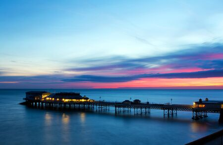 View of Cromer Pier, Cromer, Norfolk, UK photo