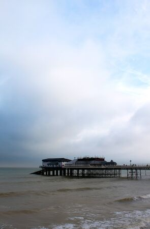 kefallonia: View of Cromer Pier, Cromer, Norfolk, UK Stock Photo
