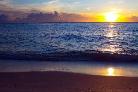 sunset over boca grande, florida