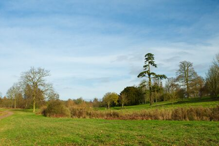 english countryside scene on a cold winters day Stock Photo - 17989786