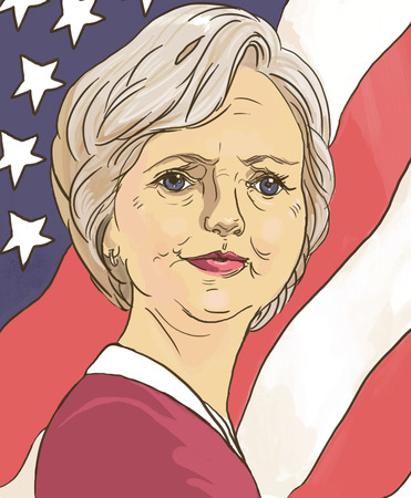 presidential: October 20, 2016.Hillary Clinton.Portrait. Presidential candidate. Elections 2016