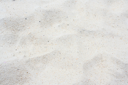 White sand texture of the Samed island