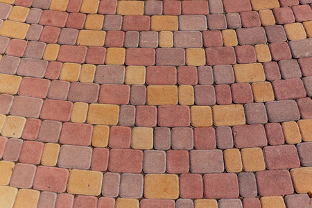 ceske: Colored stone paving texture and background