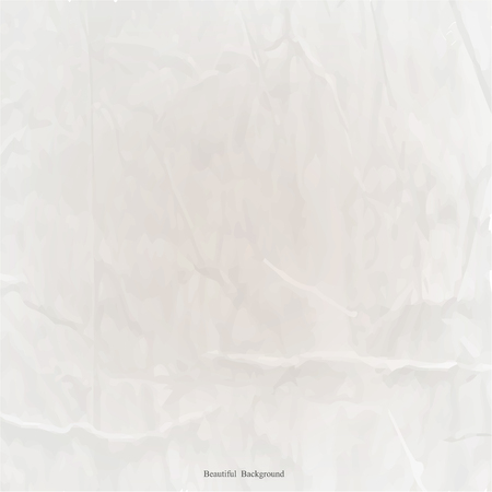 neutral background: Seamless crumpled paper texture neutral background